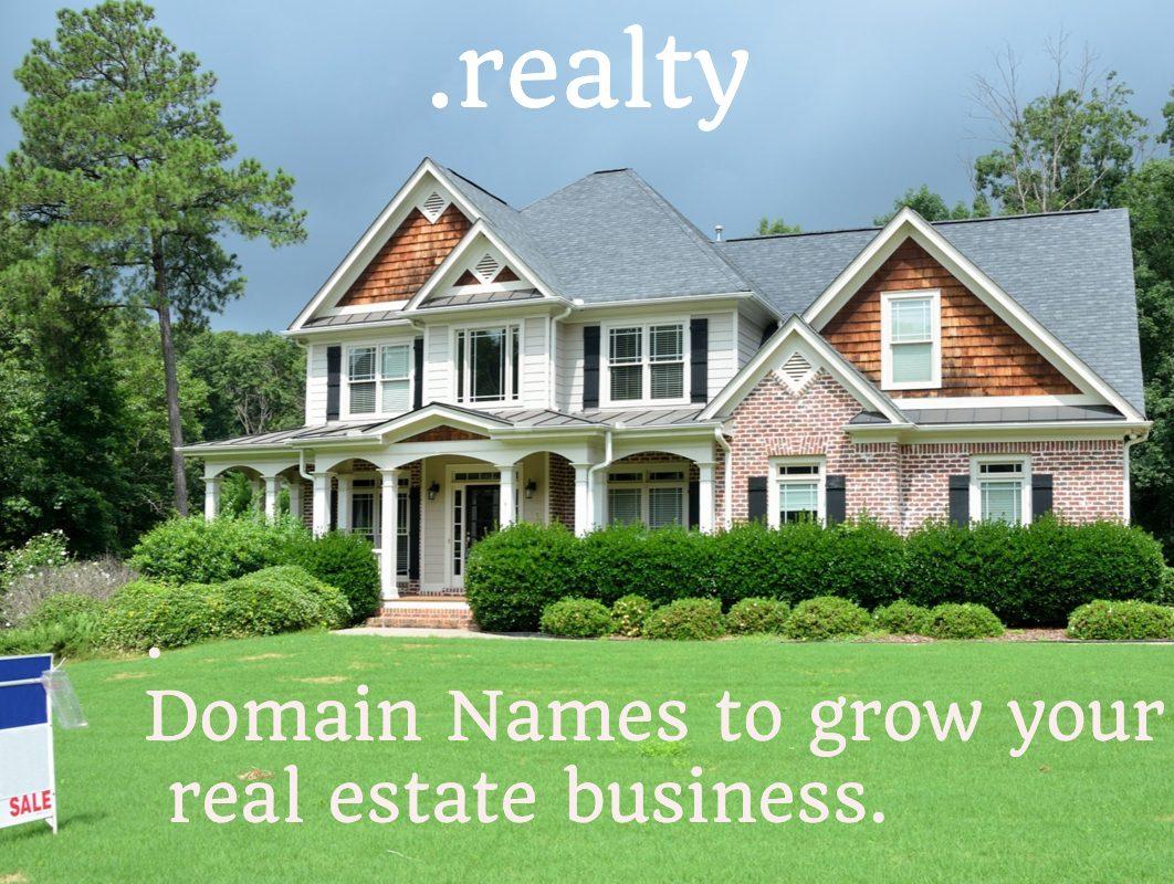 dot realty domain names info